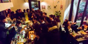 Una festa esclusiva in un locale di Roma