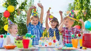 Organizzare un festa all'aperto per bambini